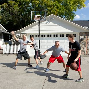 Front Court Basketball Stand