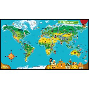 LeapFrog LeapReader™ World Map