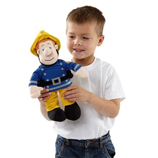 30 cm Talking Fireman Sam Plush