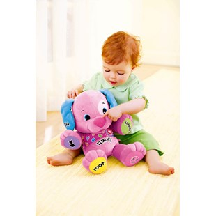 Fisher Price Laugh and Learn Love to Play Puppy Pink