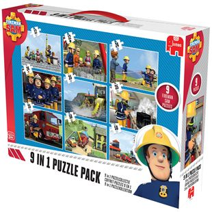 Fireman Sam 9 in 1 Bumper Pack