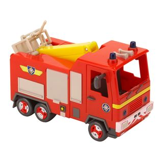 Fireman Sam Push Along Jupiter Vehicle