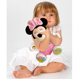 Disney 25cm Baby Minnie Mouse Talking Plush