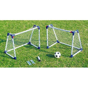 2 Junior Football Goal Sets