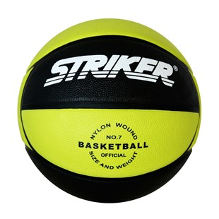 Rubber Green Basketball Size 7