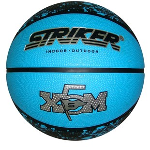 Rubber Blue Basketball Size 5