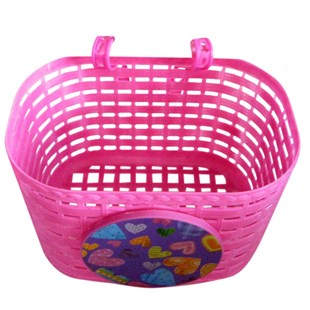 Pink Bike Basket