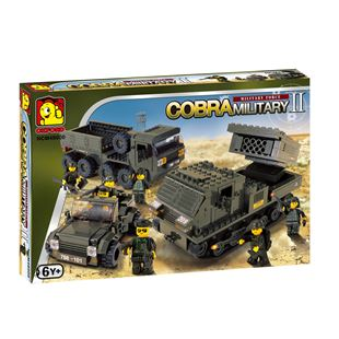 Oxford Cobra Military Playset