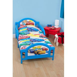 Disney Cars 4 in 1 Junior Bed Bundle