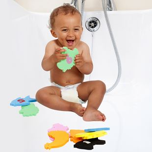 ClevaBath Bath Toys & Tidy Bag