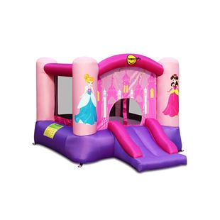 Princess Slide and Basketball Hoop Bouncer