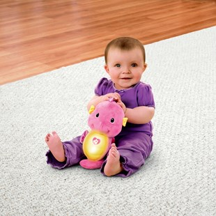 Fisher-Price Soothe & Glow Seahorse Pink