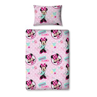 4 Piece Junior Bedding Bundle Disney Minnie Mouse