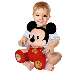 26cm Disney Baby Mickey Mouse Talking Plush