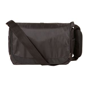 Babylo  Messenger Bag- Black