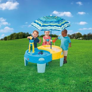 Step 2 Shady Oasis Sand and Water Table
