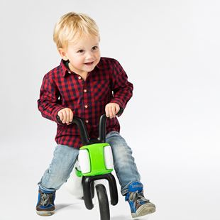 Chillafish Bunzi Balance Bike Lime