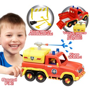 Fireman Sam 2-in-1 Venus Vehicle Play Set