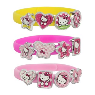 Hello Kitty Bracelets with Charms