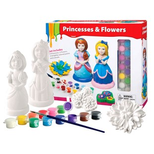 Paint Your Dream World Princesses & Flowers