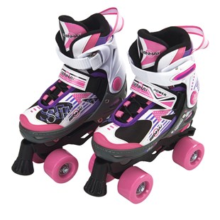 Adjustable Quad Skate Pink/Purple Size 1-3 (UK)