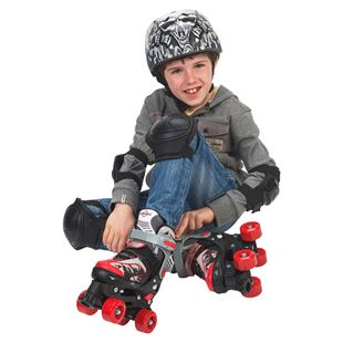 Adjustable Quad Skate Red/Black Size 1-3 (UK)