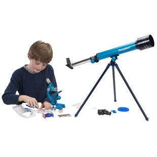 Deluxe Microscope and Telescope Set