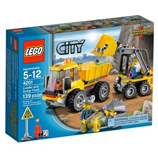 LEGO City Loader and Tipper 4201