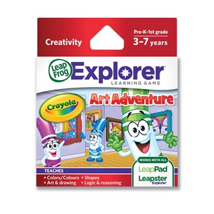 LeapFrog Explorer: Crayola Art Adventure