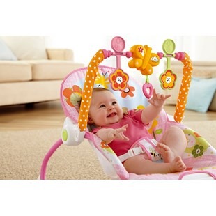 Fisher-Price Infant to Toddler Rocker Bunnies