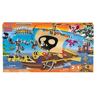 Mega Bloks Skylanders Giants Crushers Pirate Quest
