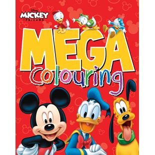 Disney Mickey Mouse & Co Mega Colouring