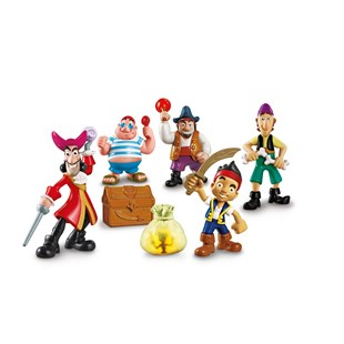 Jake and the Neverland Pirates Deluxe 5 Figure Pack
