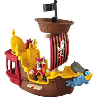 Hook's Jolly Roger Pirate Ship
