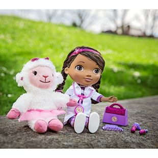 Disney Doc McStuffins Time for Your Check-Up Interactive Doc and Lambie