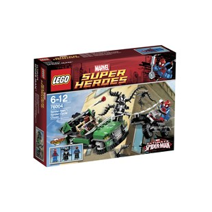 LEGO Super Heroes SpiderMan SpiderCycle Chase76004