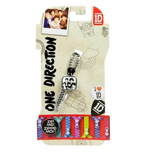 One Direction Zip Bandz 1pk (CDU)