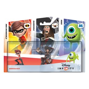 Disney Infinity Sidekicks 3 Character Pack
