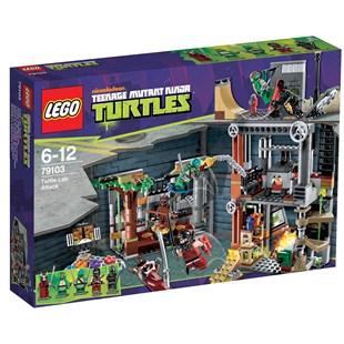 LEGO Turtles Turtle Lair Attack 79103