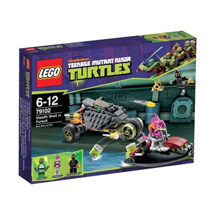 LEGO Turtles Stealth Shell in Pursuit 79102