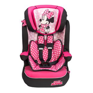 Imax Deluxe Disney Minnie Mouse Group 1-2-3 Car Seat