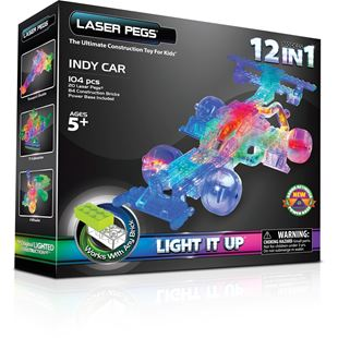 Laser Pegs 12 in 1 Indy Car
