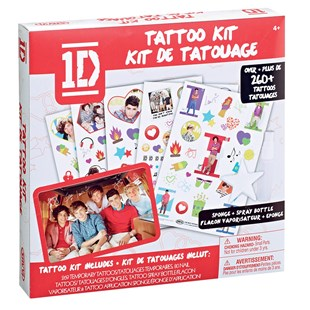 One Direction Body Art Transfer Kit