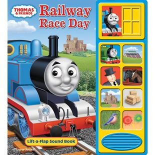 Little Lift & Listen Book Thomas railway Race Day