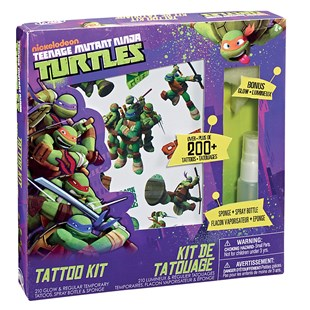 Turtles Tattoo Kit