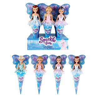 Sparkle Girlz Winter Fairies Cone