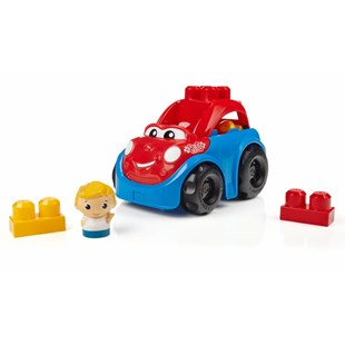 Mega Bloks First Builders Lil Vehicle Ricky Race Car