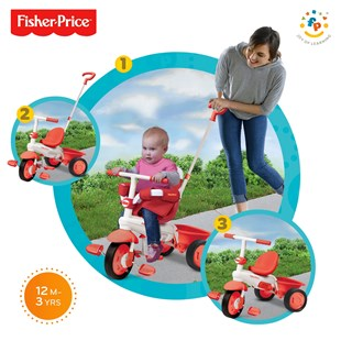 Fisher-Price Classic 3 in 1 Red Trike
