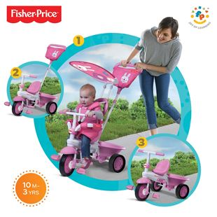 Fisher-Price Elite 3 in 1 Pink Trike