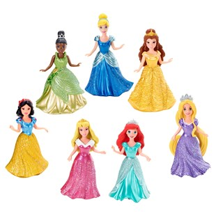 Disney Princess 7 Pack MagiClip Dolls